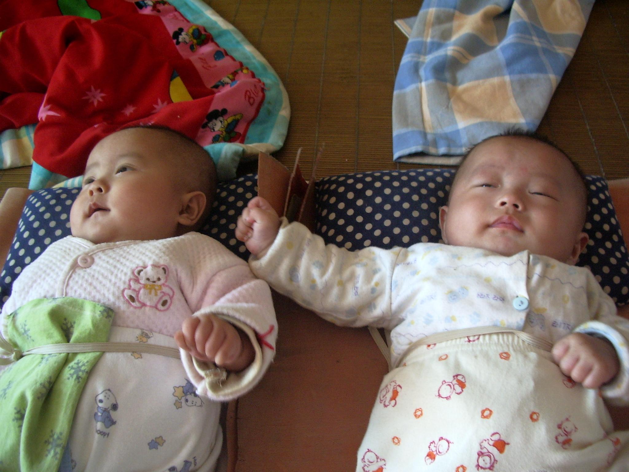 刚出生就有门牙   龙凤胎宝宝图片欣赏   商都频道--试管婴儿