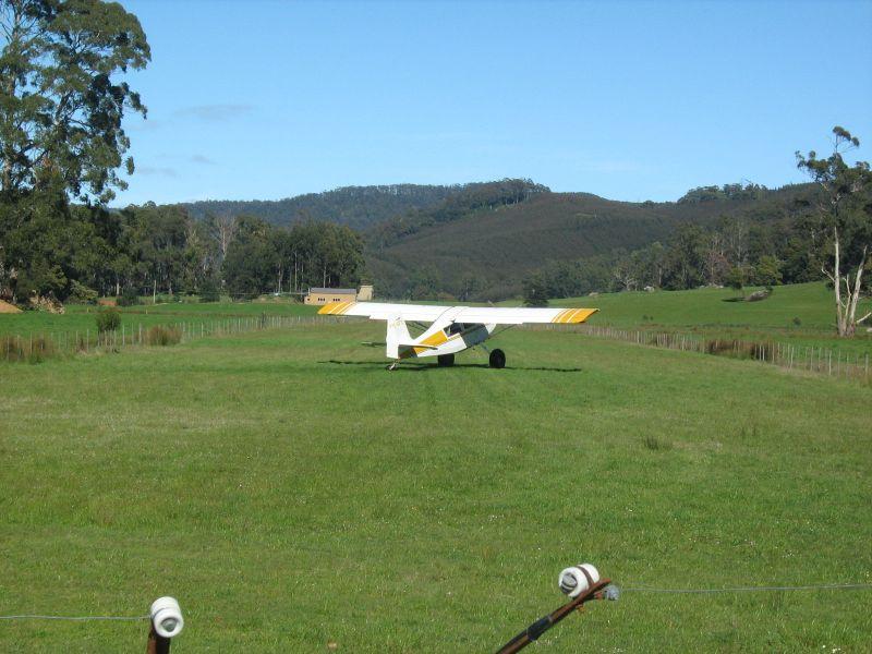 我家附近的小型私人飞机场
